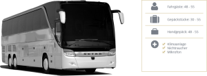 Business Class Reisebus Details