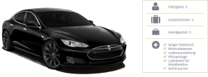 Green Class - Tesla Model S - Details