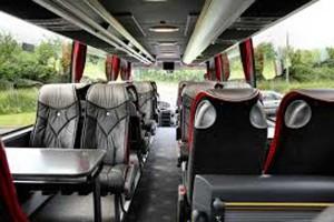 VIP Bus Innenraum